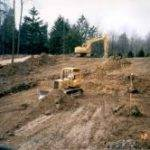 excavation company near Cleveland performs full large site excavation