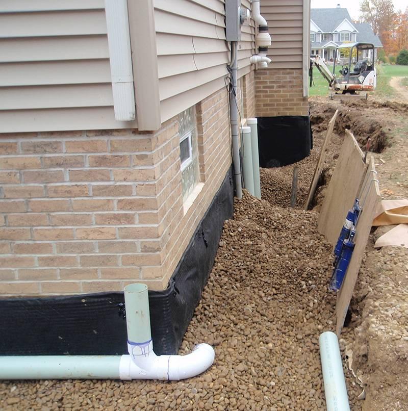 Residential Home Waterproofing